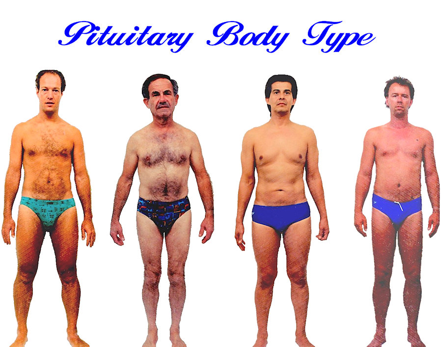 Mens Pituitary body shape