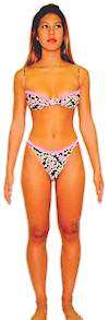 womens pear body shapes